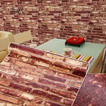 3D Vintage Modern Wall  Embossed Brick Stone Wall Papers Home Decor Mural Furniture Wallpaper Roll For Living Room Wall Covering