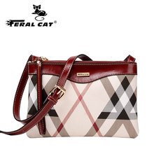 New Design Women PVC Leather Crossbody Bags With Three Bags Together Beautiful Striped Shape Lady Versatile Shoulder Bags F439(China)