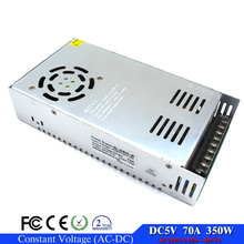 Switching power supply DC 5V 70A 350W Driver transformer AC110 220V to DC5V SMPS for led display Screen electronic panel light