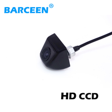 CCD backup resersing parking car rearview camera for all car rear camera night vision waterproof