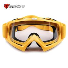 HEROBIKE Snowmobile Motorcycle Goggles Motocross DH MTB Glasses Single Lens Clears Winter Skate Sled ATV Eyewear