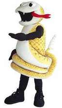 fast customized professional custom Terrible Snake animal  Mascot Character  costumes Adult size birthday gift Costume