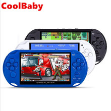 Coolbaby 5 Inch Large Screen LCD X9 Nostalgic 8G Handheld Retro Game Console Video MP3 Player for GBA/NES games 1000 Games(China)