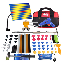 PDR Tools Kit Dent Removal Dent Repair Reflector Board Reflection Board Dent Puller Mini Lifter Glue Tabs Suction Cup(China)