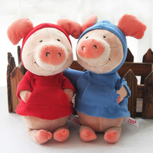 Popular Cartoon 30cm Nici Pig Wibbly Pig 4 Styles Plush Soft Doll Animal Stuffed Toy For Kid Children Birthday Gift Good Quality(China)