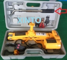 2TON SUV 12V auto electric hydraulic jack car lift jack tire repair tools toolkit jack(China)