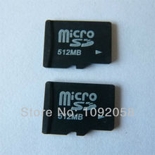 Wholesale Micro SD card SDHC 128MB 256MB 512MB Transflash TF Memory card + SD transfer adapter +Free shipping