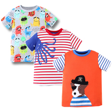 Buy 3pcs Toddler Tshirt Boys Clothes Baby Boy Summer Tops Character Kids Cotton T-shirt Boys Clothing Children T shirts Fille ) for $15.50 in AliExpress store