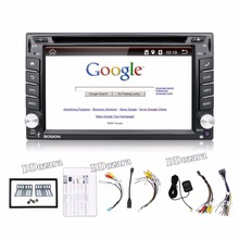 Car Electronic autoradio 2din android car dvd player stereo GPS Navigation WIFI+Bluetooth+Radio+1G CPU+3G+TV (Option)(China)