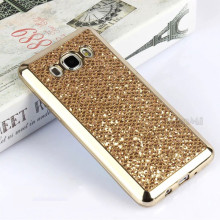 Plating For Samsung Galaxy A3 A5 A7 J1 J1 Ace J2 J3 J5 J7 2015 2016 2017 Bling Royal Luxury Soft TPU Sleeve Phone Back Cover(China)