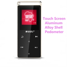 Original RUIZU D01 Touch Screen MP3 Player 8GB with FM Radio Ebook Pedo Meter Voice Recorder Movie mp3 music player(China)