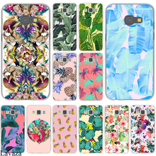 2017 NEW Cute banana leaf Fashion Design Hard Case Cover for Galaxy A3 A5 J5 (2015/2016/2017) & J3 J5 Prime A7 J7