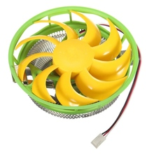 1pcs 120mm 3Pin CPU Cooler Fan Radiator 12V Heatsink Air Cooling Thermal Silicone For Intel LGA775/1156/1155 AMD AM2/AM2+/AM3