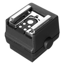HD-N3 Hot Shoe Adapter High-quality Flash Hot Shoe PC Sync Socket Adapter for Sony for Minolta DSLR Camera