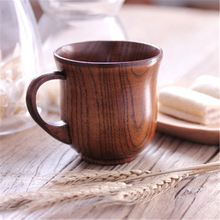 Japanese Creative Natural Wood Tea Cup Coffee Vintage Cup Mug Milk Caneca Simple Eco Friendly Wood Teacup Personalized QQB1259