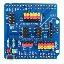Buy Sensor Shield IO Shield IO Board Base Shield Sensor Expansion Board Compatible Arduino UNO / Leonardo / Mega2560 for $3.40 in AliExpress store