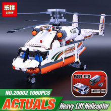 new lepin 20002 technology series mechanical group high load helicopter blocks Compatible With 42052 Boy assembling toy(China)