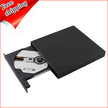 External USB 2.0 Optical Drive Double Layer 8X DVD RAM RW DL Burner 24X CD-R Writer Black for Dell Sony Toshiba Laptop New