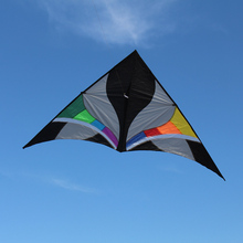 300*135cm Kite Single Line Kite Huge Delta-shape Kite Flyer Triangle Assembled Kite Children Adults For Fun Perfect for Vacation