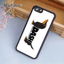MaiYaCa New Dog Dachshund fashion soft mobile cell Phone Case Cover For iPhone 5 5S SE Custom DIY cases luxury shell(China)