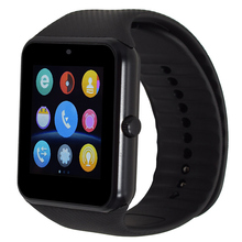 GT08 touch screen clock Bluetooth smart watch sports pedometer support SIM card camera smart watch Android smartphone Russia(China)