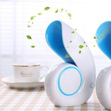 Portable Mini Air Conditioner Fan Conch Leafless USB Rechargeable Cooling Fan Outdoor Travelling Handheld Fan