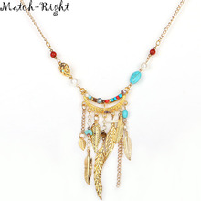 Match-Right Women Necklace Resin Statement Necklaces Pendants Crystal Jewelry Vintage Necklace Women Accessories f NL576