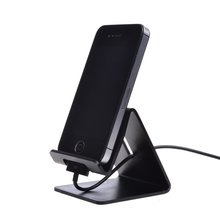 Portefeuille Aluminum Metal Mobile Phone Desktop Stand Mount Holder Stander Cradle For iPhone 7 6 6s plus ipad Tablet PC Samsung