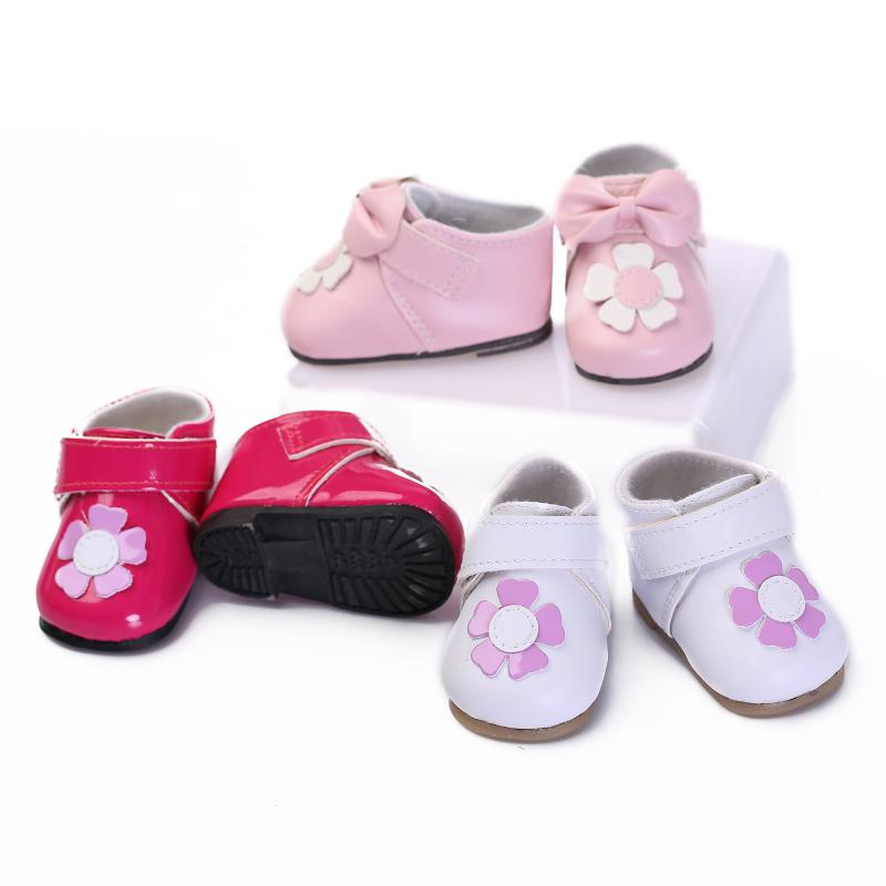 2019 Fashion Hot Cheap Handmade Fit For 22inch Reborb Baby White Shoes Gifts