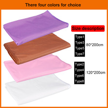1 Pcs Soft Beauty Bed Sheet Comfort Massage Cover Solid Bedding With Curling Selvedge