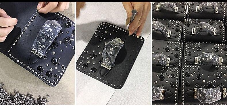 Fashion Women Messenger Bag New Brand Genuine Leather Female Shoulder Bag Luxury Diamond Woman Handbags Strap Bags White (6)