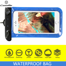 Universal Waterproof Bags Underwater Phone Case For iPhone 6 6s Plus 5S SE 7 7Plus/ for Samsung S6 S7 Edge Plus 17.5*10.5 CM