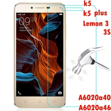Buy Tempered glass screen protector FOR Lenovo Vibe K5 K5 plus A6020a40 A6020a46 Lemon 3 3S K32C36 K32 C30 a6020 a40 a46 glas film for $1.89 in AliExpress store