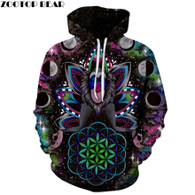 3D Hoodies Men Women Sweatshrits Space KONGFU Monkey Printed Pullover Hot Sale Tracksuits 6xl Autumn Male Tracksuits Jackets(China)
