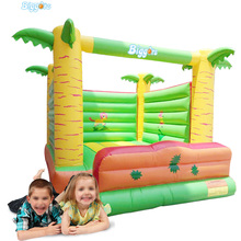 Tropical Popular Inflatable Jumper Caslte Jumping Castle Bounce House Bouncy House