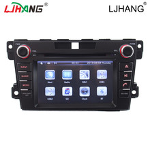 Touch screen HD Car dvd player For Mazda CX7 2006-2012 GPS Navigation Free map RDS FM AM CD Steering Wheel Control BT Video IPOD(China)