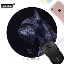 Animals Cute Round Anti-Slip gaming Mouse pad Speed Mice Mats mouse pad Durable Desktop Pad Computer Mouse pads(China)