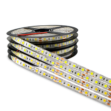 DC 12V 5M 300LED IP65 IP20 not Waterproof 5050 SMD RGB LED Strip light 3 line in 1 high quality lamp Tape for home lighting(China)