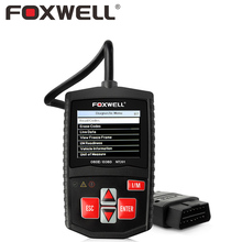 FOXWELL NT201 Car OBD2 Engine Analyzer Turn Off MIL Malfunction Indicator Light Auto OBD 2 Diagnostic Scanner Clear Errors Tool(China)
