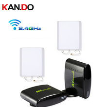 380 700M to work,2.4G Wireless AV Sender transmitter receiver,2.4G Wireless Video Audio transceiver AV sender video adapter