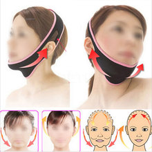 1pc Face Lift Up Belt Face V Shaper Facial Slimming Bandage Relaxation Lift Up Belt Shape Lift Reduce Double Chin Face Lift Tool