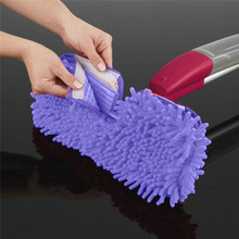 Replacement Paspas Pad Flat Mop Heads Cleaner Floor Cleaning Pad Chenille Flat Mop Head Replacement Refill Head To Floor Mops