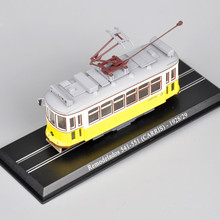 Mini 1/87 Scale Tram Model Remodelados 541-551 (CARRIS) -192829 Diecast Model Tram Collections Toys For Children Gifts C(China)