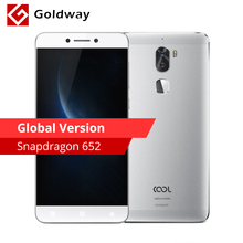 "Global Version Original Leeco Cool 1 Dual Coolpad Cool1 Mobile Phone Snapdragon 652 3GB RAM 32GB 5.5"" 13MP Dual Back Cameras(Hong Kong)"