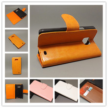 Crazy horse Flip leather case Credit Card Slots and stand function For Samsung Galaxy S2 SII GT I9100 Galaxy S2 Plus i9105