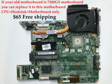 High quality Laptop motherboard+CPU+Heatsink for HP Pavilion DV6000 945GM 434723-001 434725-001 Fully tested&Working perfect