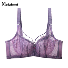Buy Meizimei lolitas XXX sexy bra womens underwear push wide strap lace bras ladies thin cup entice lingerie bh brassiere X3202