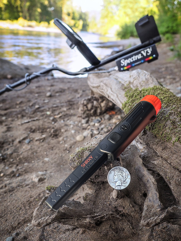 upgrade Sensitive Metal Detector pointer TRX Pro Pinpointing GP-pointerII waterproof Hand Held Metal Detector with Bracelet
