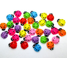 Buy 50Pcs Mixed Beetles Resin Decoration Crafts Beads Flatback Cabochon Scrapbook DIY Embellishments Accessories Buttons for $2.71 in AliExpress store
