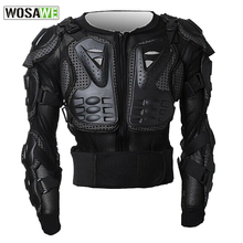 WOSAWE Professional Motorcycle Body Protection Motor cross Racing Body Armor Spine Chest Protective Jacket Gear Back Support
